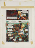 Paintings, HARVEY KURTZMAN (American 1924 - 1993) and WILL ELDER (American 1922 - 2008). Body Language, Little Annie Fanny story,...