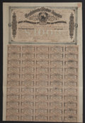 Confederate Notes:Group Lots, Ball 325 Cr. 144B $1000 1864 Six Per Cent Bond Very Fine.. ...