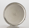 Silver Holloware, American:Trays, A GEORGE III SILVER FOOTED TRAY. George Smith & Thomas Hayter, London, England, circa 1802-1803. Marks: (lion passant), (leo...