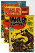 Golden Age (1938-1955):War, War Battles #1-8 File Copy Group (Harvey, 1952) Condition: AverageVF.... (Total: 8 Comic Books)