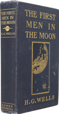 Books:First Editions, H. G. Wells. The First Men in the Moon. New York: TheBowen-Merrill Company, 1901....