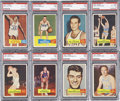 Basketball Cards:Lots, 1957-58 Topps Basketball High-Grade Partial Set (59/80). ...