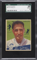 Baseball Cards:Singles (1930-1939), 1934 Goudey Ed Holley #55 SGC 88 NM/MT 8....