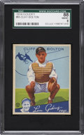 Baseball Cards:Singles (1930-1939), 1934 Goudey Cliff Bolton #65 SGC 88 NM/MT 8....