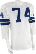 Football Collectibles:Uniforms, Early 1970's Bob Lilly Game Worn Jersey....