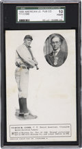 Baseball Cards:Singles (Pre-1930), 1908 American League Publishing Company Ty Cobb SGC 10 Poor 1....