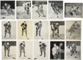 Hockey Collectibles:Photos, 1950s Quaker Oats Premiums Lot of 80.... (Total: 2 lot)