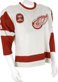 Hockey Collectibles:Uniforms, 1981-82 Ted Nolan Game Worn Jersey....