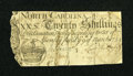 Colonial Notes:North Carolina, North Carolina March 9, 1754 20s Good....