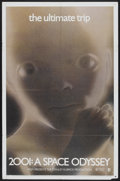 "Movie Posters:Science Fiction, 2001: A Space Odyssey (MGM, R-1972). One Sheet (27"" X 41""). ScienceFiction...."