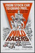 "Movie Posters:Sports, Wild Racers (American International, 1968). One Sheet (27"" X 41""). Sports...."