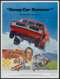 """Movie Posters:Documentary, Funny Car Summer (Ambassador Pictures, 1974). Poster (30"""" X 40""""). Documentary...."""