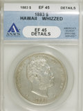 Coins of Hawaii, 1883 $1 Hawaii Dollar--Whizzed--XF45 ANACS. XF45 Details. NGCCensus: (38/165). PCGS Population (107/224). Mintage: 500,000...