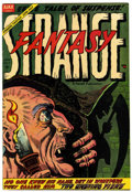Golden Age (1938-1955):Horror, Strange Fantasy #12 (Farrell, 1954) Condition: VF....