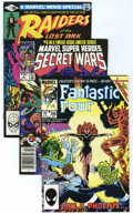 Modern Age (1980-Present):Miscellaneous, Marvel Modern Age Box Lot (Marvel, 1980s) Condition: Average NM-....