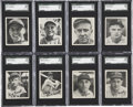 Baseball Cards:Sets, 1936 R322 Goudey SGC-Graded Partial Set (16/25)....