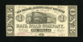 Obsoletes By State:Louisiana, New Orleans, LA- New Orleans, Jackson & Great Northern Rail Road Company $1 Nov. 16, 1861. The antebellum goal of this railr...