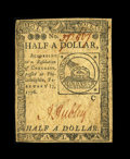 Colonial Notes:Continental Congress Issues, Continental Currency February 17, 1776 $1/2 Choice About New. Thismost pleasing and original piece is the nicest of this de...