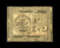Colonial Notes:Continental Congress Issues, Continental Currency February 17, 1776 $5 About New. This note withdark signatures is a single center fold away from the Ch...