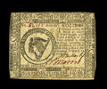 Continental Currency February 17, 1776 $8 New. This fully uncirculated Eight Dollar note is held from the Choice grade...