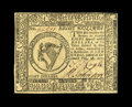 Colonial Notes:Continental Congress Issues, Continental Currency February 26, 1777 $8 Very Choice New. High-grade notes from this February 1777 Baltimore issue are dece...