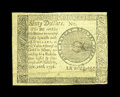 Colonial Notes:Continental Congress Issues, Continental Congress Issue September 26, 1778 $60 CounterfeitDetector Extremely Fine....