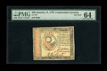 Colonial Notes:Continental Congress Issues, Continental Currency January 14, 1779 $30 PMG Choice Uncirculated 64. Not many Continentals wind up in premium TPG holders a...