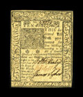 Colonial Notes:Delaware, Delaware January 1, 1776 10s Choice New. This is a lovely exampleof this issue that has bold penmanship as well as exceptio...