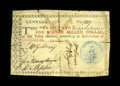 Colonial Notes:Georgia, Georgia 1776 $1 Very Fine. Well-signed with a bold, blue seal andfive very strong signatures. There are a few minor interna...