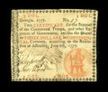 Colonial Notes:Georgia, Georgia June 8, 1777 $3 Very Fine. There is a tiny internal splitthat is easily repairable on this otherwise problem-free n...