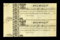 Maryland 17__ 15s Uncut Pair New. This remainder is from Maryland's first issue. This example does not have any folds, b...