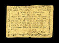Colonial Notes:Massachusetts, Massachusetts June 18, 1776 3s/6d Fine. A nice example of the seldom-seen smaller size low-denomination notes from this very...