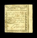 Colonial Notes:Massachusetts, Massachusetts 1779 2s/6d Extremely Fine. This is a beautifullymargined Rising Sun note that is quite well printed on both s...