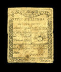 Colonial Notes:Massachusetts, Massachusetts 1779 5s/6d Fine. This is a nice circulated example of this extremely popular issue. The face plates for this i...
