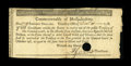 Colonial Notes:Massachusetts, Massachusetts 1781 $16 Extremely Fine. This denomination had beenunknown until about two years ago when five pieces surface...