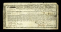 Colonial Notes:Massachusetts, Massachusetts Commodity Bond January 1, 1780 Very Fine, repairs.This bond is listed in Anderson as MA-21 and considered by ...