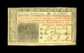 Colonial Notes:New Jersey, New Jersey March 25, 1776 15s Choice About New. The tiniest ofcorner folds precludes a full Gem grade on this colorful issu...