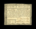 Colonial Notes:New Jersey, New Jersey June 9, 1780 $8 Choice About New. Fully signed on both sides, with the signature of David Brearley on the face. B...