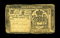 Colonial Notes:New York, New York April 15, 1758 L5 Very Fine. This is only the thirdexample of this note in our 40 sales. All three signatures rema...