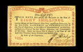 Colonial Notes:New York, New York August 2, 1775 (Water Works) 8s Choice New. This is abright and nicely printed Water Works note that has very bold...