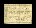 Colonial Notes:North Carolina, North Carolina 1756 - 1757 (written dates) £5 Very Good-Fine....