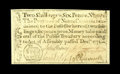 Colonial Notes:North Carolina, North Carolina December, 1771 2s/6d Choice New. This note has anice house vignette plus ample margins....