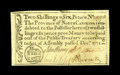 Colonial Notes:North Carolina, North Carolina December, 1771 2s/6d Choice New. Here is a nicelymargined, well-signed example of this popular type with its...