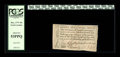 "Colonial Notes:North Carolina, North Carolina December, 1771 10s PCGS About New 53PPQ. A handsome,broadly margined North Carolina ""Ship"" note with four bo..."