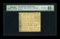 Colonial Notes:Pennsylvania, Pennsylvania March 10, 1769 10s PMG Choice Extremely Fine 45 EPQ.Not a very rare note in lower grade even though only 2000 ...