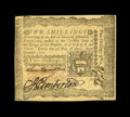 Colonial Notes:Pennsylvania, Pennsylvania April 3, 1772 2s Choice New. Three good signatures and fresh paper surfaces highlight this nice note....