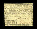 Colonial Notes:Rhode Island, Rhode Island July 2, 1780 $2 Choice About New. Signatures are boldand the paper is bright on this Rhode Island $2 that has ...