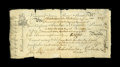 Colonial Notes:Virginia, Virginia April 1, 1773 £8 Very Fine. This is the earlier and much rarer James River Bank form issue, and, in spite of numer...