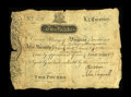 Colonial Notes:Virginia, Virginia July 17, 1775 £2 Very Fine. There are some juncture holesand edge splits, but this note is vastly superior to wha...