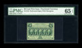 Fractional Currency:First Issue, Fr. 1310 50c First Issue PMG Gem Uncirculated 65 EPQ. Deep, evenperforations all the way around, ideal color, fresh paper s...